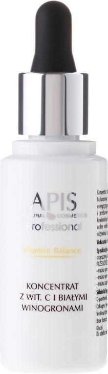 Concentrat cu Vitamina C pentru față - APIS Professional Vitamin Balance Concentrate