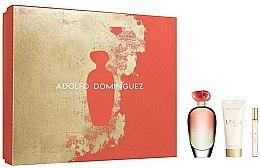 Parfumuri și produse cosmetice Adolfo Dominguez Unica Coral - Set (edt/100/ml+edt/10/ml+b/lotion/75/ml)