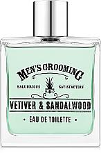 Parfumuri și produse cosmetice Scottish Fine Soaps Men's Grooming Vetiver & Sandalwood - Apă de toaletă