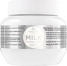Parfumuri și produse cosmetice Masca de păr cu proteina din lapte - Kallos Cosmetics Hair Mask Milk Protein
