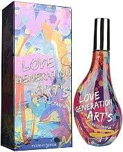 Parfumuri și produse cosmetice Jeanne Arthes Love Generation Art`s - Apă de parfum