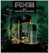 Parfumuri și produse cosmetice Axe Wild - Set (deo/150ml + sh/gel/250ml + edt/50ml)