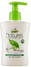 Parfumuri și produse cosmetice Săpun lichid cu ceai verde, mesteacăn și aloe pentru mâini - Winni's Naturel Liquid Hand Soap Mani The Verde
