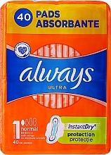Parfumuri și produse cosmetice Absorbante, 40 bucăți - Always Ultra Normal Plus