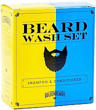 Parfumuri și produse cosmetice Set - Golden Beards Beard Wash Set (shm/100ml + cond/100ml)