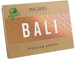 Parfumuri și produse cosmetice Paletă bronzer - Ingrid Cosmetics Bali Bronzing Palette