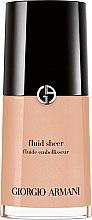 Parfumuri și produse cosmetice Fond de ten, lichid - Giorgio Armani Fluid Sheer
