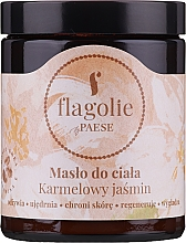 "Parfumuri și produse cosmetice Unt de corp ""Caramel Jasmine"" - Flagolie by Paese Caramel Jasmine"