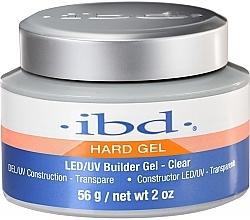 Parfumuri și produse cosmetice Gel de construcție pentru unghii, incolor - IBD LED/UV Builder Clear Gel