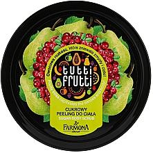 Parfumuri și produse cosmetice Scrub pentru corp cu zahăr - Farmona Tutti Frutti Sugar Scrub