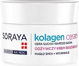 Parfumuri și produse cosmetice Crema nutritivă de noapte - Soraya Kolagen i Ceramid Nourishing Cream