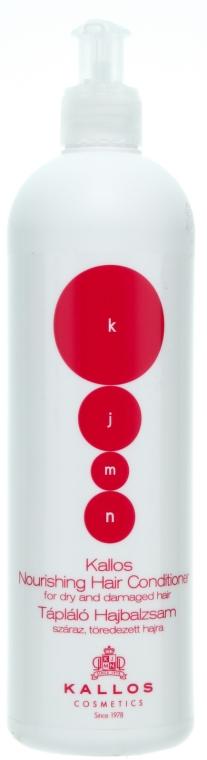 Balsam nutritiv pentru părul uscat și deteriorat - Kallos Cosmetics Nourishing Hair Conditioner — Imagine N1