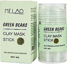 """Parfumuri și produse cosmetice Mască-stick pentru față """"Green Beans"""" - Melao Green Beans Clay Mask Stick"""