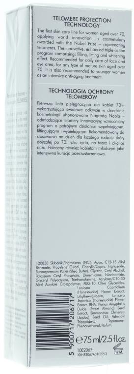 Cremă pentru gât și zona decolteului - Dr Irena Eris Telomeric Ultra Dermo-Lifting Neck And Decollette Cream — Imagine N2