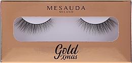 Parfumuri și produse cosmetice Gene false - Mesauda Milano Gold Xmas Instant Glam False Eyelashes 204