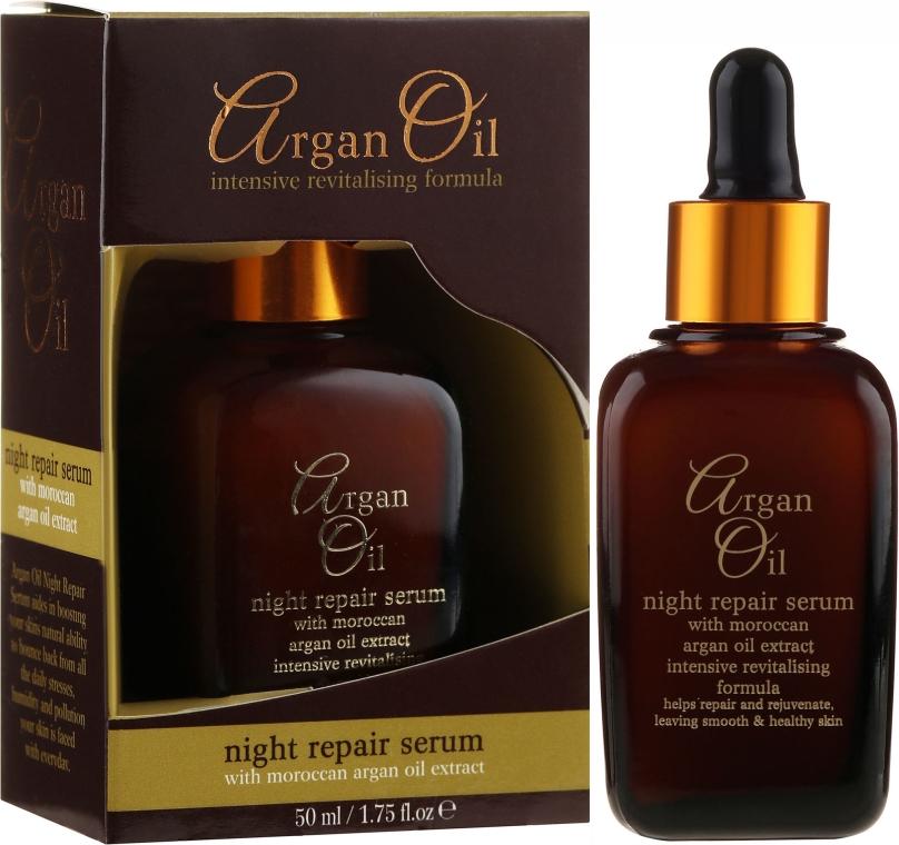 Ser regenerant de noapte pentru față - Xpel Argan Oil Night Repair Serum