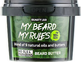 Ulei pentru barbă - Beauty Jar My Beard My Rules Beard Butter — Imagine N1