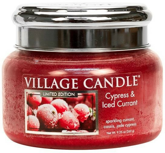 Lumânare aromată - Village Candle Cypress & Iced Currant Glass Jar — Imagine N2