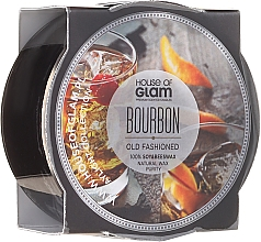 Parfumuri și produse cosmetice Lumânare aromată - House of Glam Bourbon Old Fashioned Candle (mini)