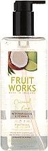 """Săpun de mâini """"Nucă de cocos și Lime"""" - Grace Cole Fruit Works Coconut & Lime Hand Wash — Imagine N1"""