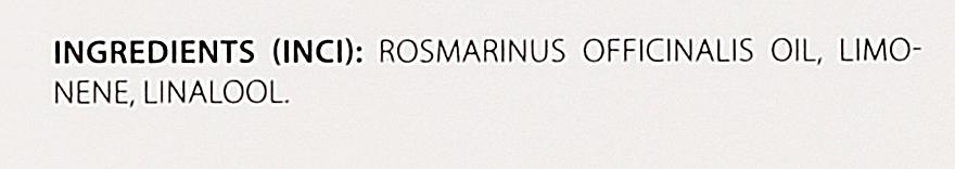 "Ulei esențial ""Rozmarin"" - Organique Natural Essential Oil Rosemary — Imagine N4"