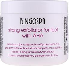 Parfumuri și produse cosmetice Exfoliant pentru picioare - BingoSpa Strong Exfoliant for Feet with AHA