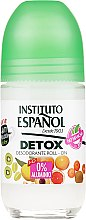 Parfumuri și produse cosmetice Deodorant Roll-on - Instituto Espanol Detox Deodorant Roll-on