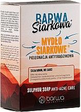 Parfumuri și produse cosmetice Săpun antibacterian de sulf - Barwa Anti-Acne Sulfuric Soap