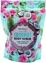 Parfumuri și produse cosmetice Scrub cu nucă de cocos pentru corp - Derma V10 Exfoliating Coconut Body Scrub