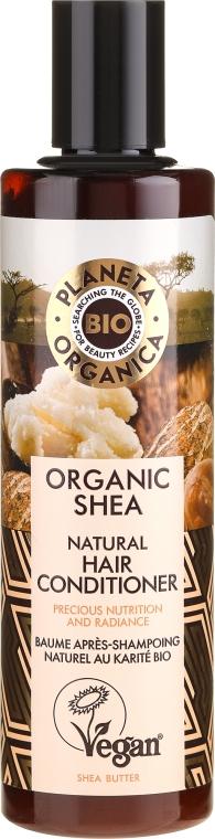 Balsam hidratant pentru păr - Planeta Organica Organic Shea Natural Hair Conditioner