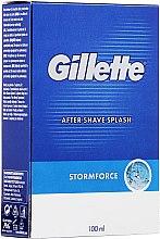 Parfumuri și produse cosmetice Loțiune după ras - Gillette Blue Storm Force After Shave Splash