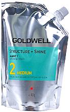 Parfumuri și produse cosmetice Cremă emolientă pentru păr vopsit și poros - Goldwell Structure + Shine Soft Cream Medium 2 Straightening Cream