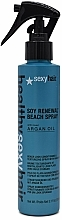 Parfumuri și produse cosmetice Spray pentru păr - SexyHair HealthySexyHair Soy Renewal Beach Spray