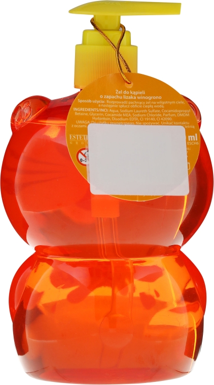 "Gel de duș pentru copii ""Leu"" - Chlapu Chlap Bath & Shower Gel — Imagine N2"