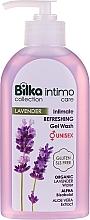 Parfumuri și produse cosmetice Gel pentru igienă intimă - Bilka Intimate Refreshing Lavender Gel Wash