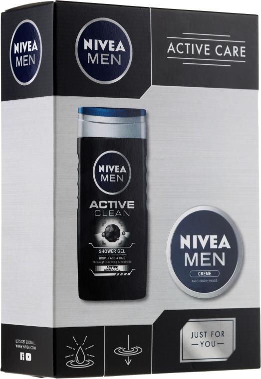 Set - Nivea Active Care (sh/gel/250ml+cream/75ml) — Imagine N1