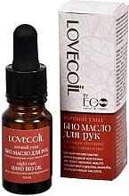 """Parfumuri și produse cosmetice Ulei Bio pentru mâini """" Hidratare intensă și regeneratoare. Îngrijire de noapte"""" - ECO Laboratorie Lovecoil Night Care Hand Bio-Oil"""