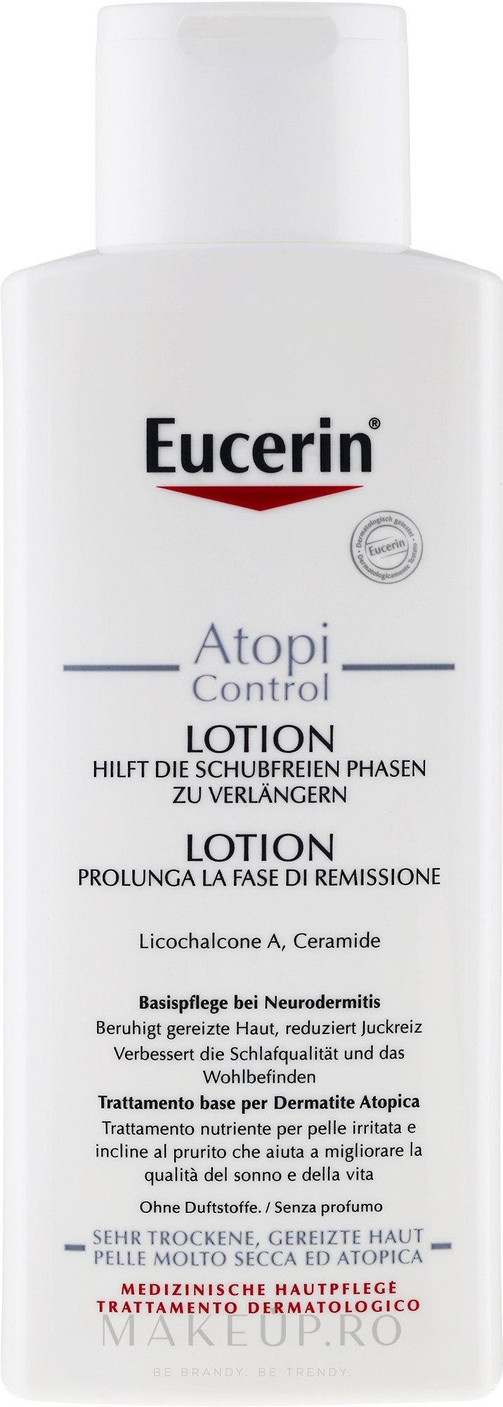 Loțiune de corp pentru dermatita atopică - Eucerin AtopiControl Body Care Lotion — Imagine 400 ml