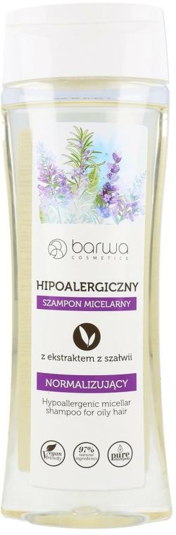 Șampon micelar cu extract de salvie - Barwa Hypoallergenic Micellar Shampoo — Imagine N1