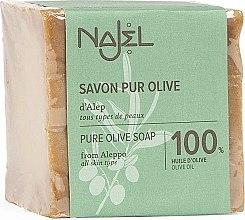 Parfumuri și produse cosmetice Săpun de măsline 100% - Najel Pure Olive Soap From Alepo