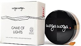 Parfumuri și produse cosmetice Iluminator pentru față - Uoga Uoga Game Of Lights Highlighting Powder