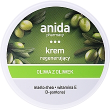 Parfumuri și produse cosmetice Cremă cu ulei de măsline pentru mâini - Anida Pharmacy Olive Oil Hand Cream