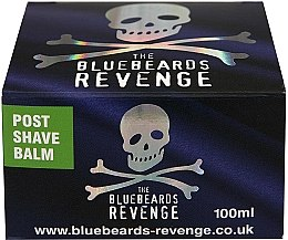 Parfumuri și produse cosmetice Balsam după ras - The Bluebeards Revenge Post Shave Balm