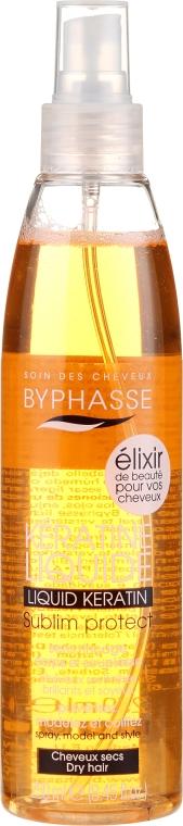 Keratină lichidă spray pentru părul deteriorat - Byphasse Activ Protect