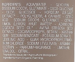 Gel de duș 2 în 1 - Melvita Homme Energy Shower Gel — Imagine N3