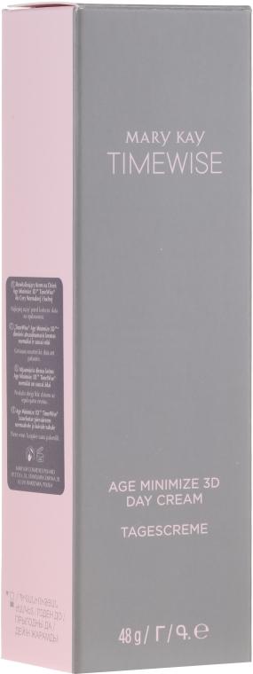 Set pentru îngrijirea tenului normal și uscat - Mary Kay TimeWise Age Minimize 3D (cleanser/127g+d/cr/48g+n/cr48g+eye/cr/14g+bag) — Imagine N10