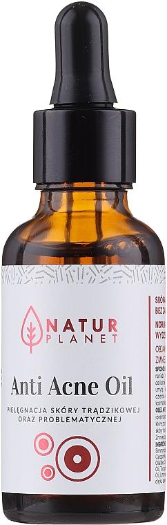 Ulei împotriva acneei - Natur Planet Anti Acne Oil