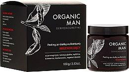 Parfumuri și produse cosmetice Peeling regenerant pentru față - Organic Life Dermocosmetics Man