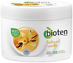 """Parfumuri și produse cosmetice Cremă hidratantă de corp """"Vanilie"""" - Bioten Beloved Vanilla Body Cream"""