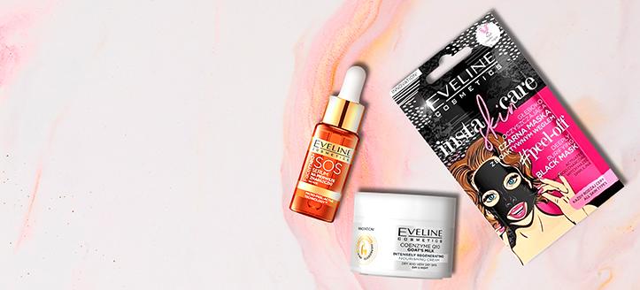 La achiziționarea produselor Eveline Cosmetics începând cu suma de 43 RON, primești în dar